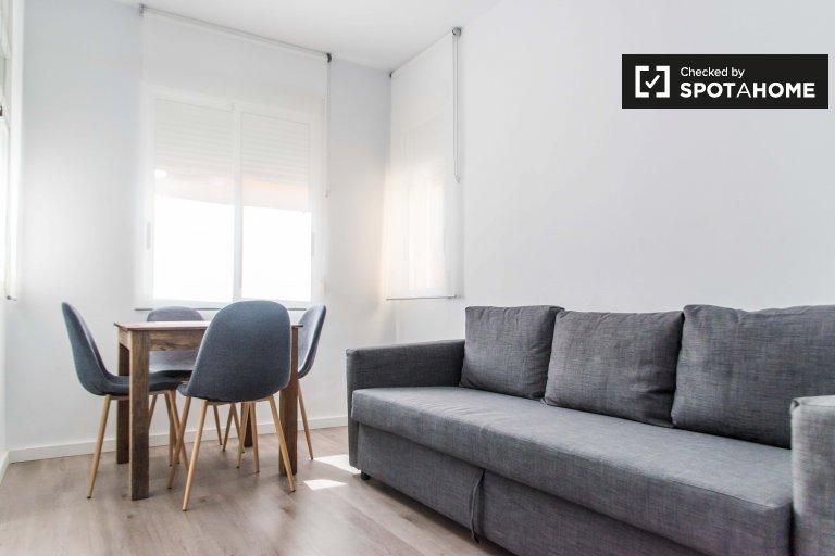 1-pokojowe mieszkanie do wynajęcia w Poblats Marítims, Valencia