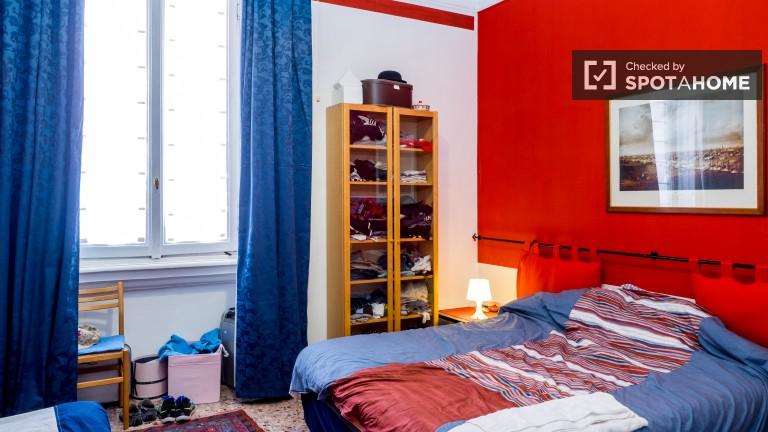 Wspólny pokój w apartamencie z 2 sypialniami, Zona Farini, Mediolan