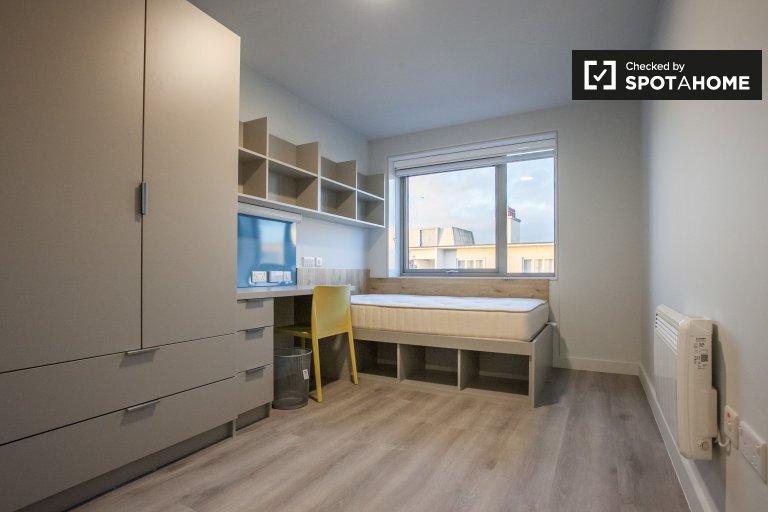 Pokój do wynajęcia we wspólnym mieszkaniu w hali zamieszkania, Dublin