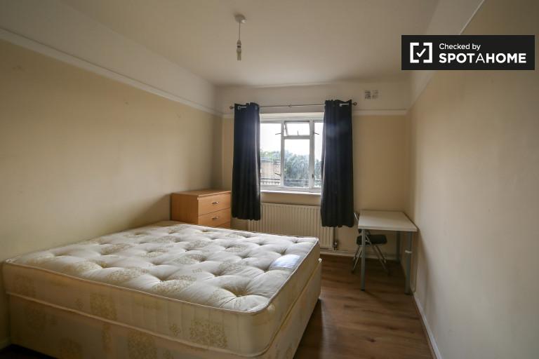 Chambre lumineuse dans appartement à Parsons Green, Londres