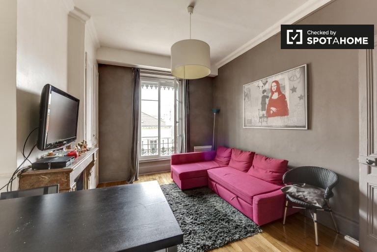 Cosy 1-bedroom apartment for rent in Part-Dieu La Villette