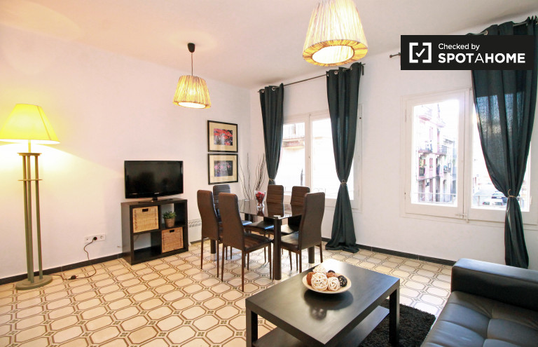 2-bedroom apartment for rent in Poblesec, Barcelona