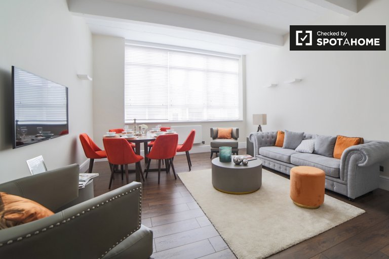 Apartamento de 3 quartos para alugar em Islington, Londres