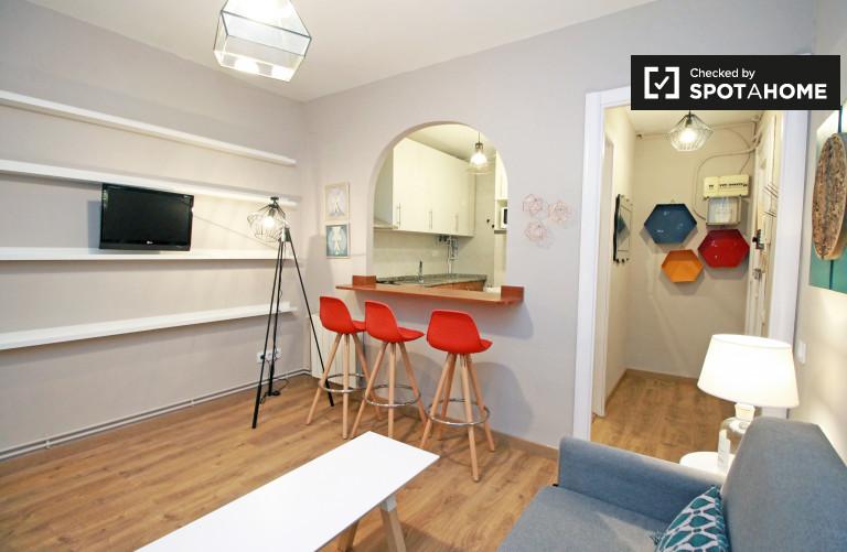 Nowoczesne 2-pokojowe mieszkanie do wynajęcia w Eixample Dreta
