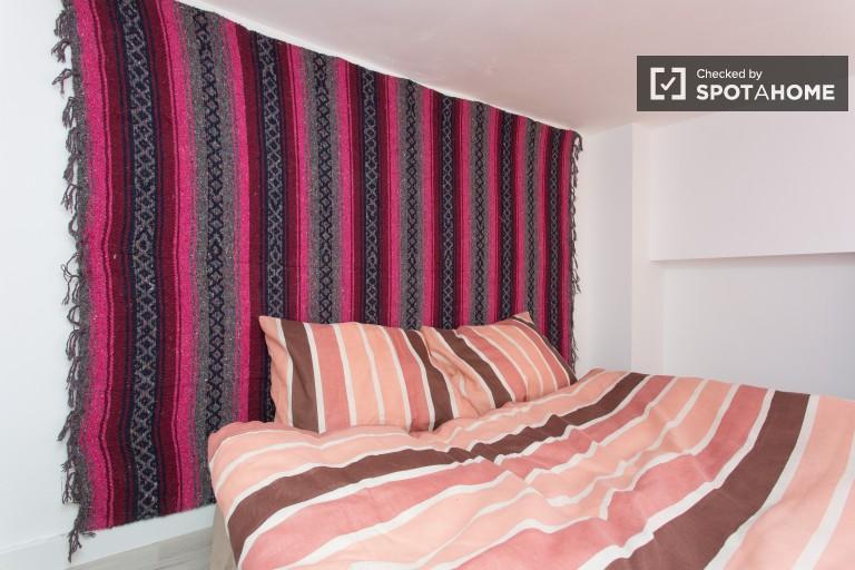Studio con aria condizionata in affitto a Lavapies, Madrid