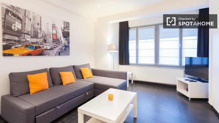 Estúdio acessível para alugar em Etterbeek, Bruxelas