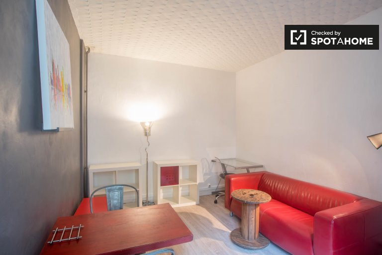 Newly decorated 1-bedroom apartment for rent in Levallois-Perret