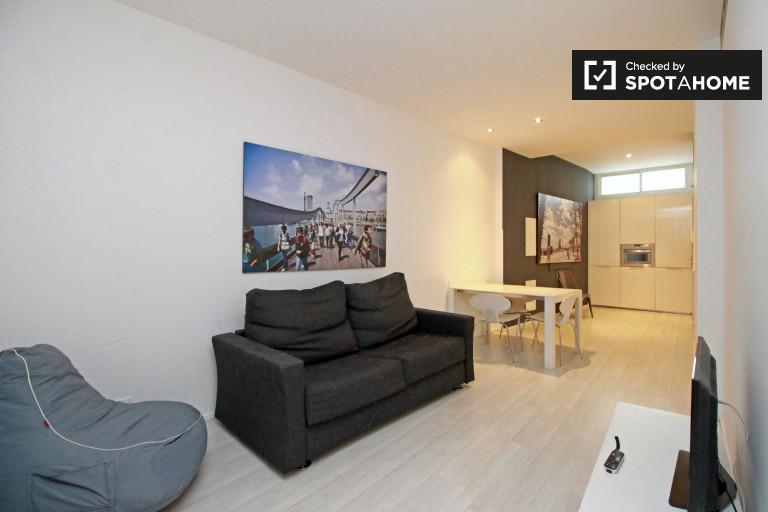 Modern studio apartment for rent in Barri Gòtic, Barcelona