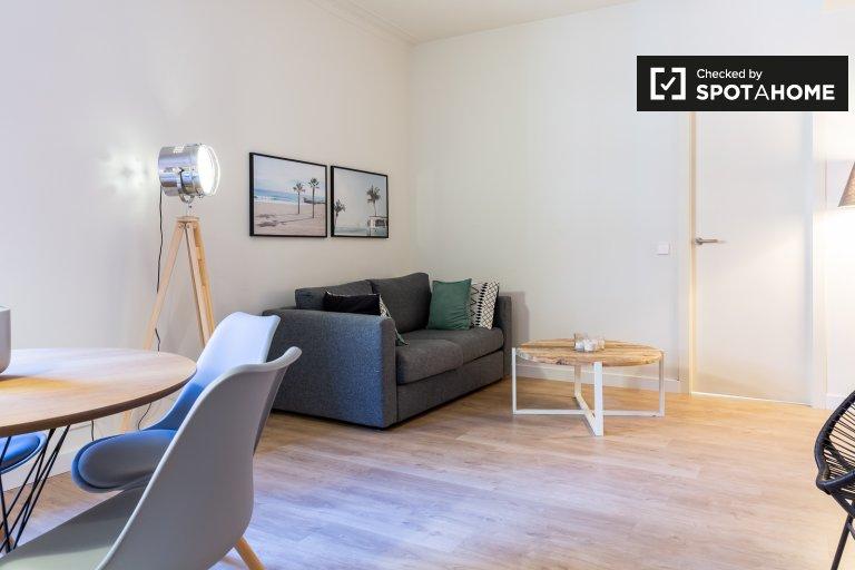 Apartamento central de 3 quartos para alugar em Barri Gòtic