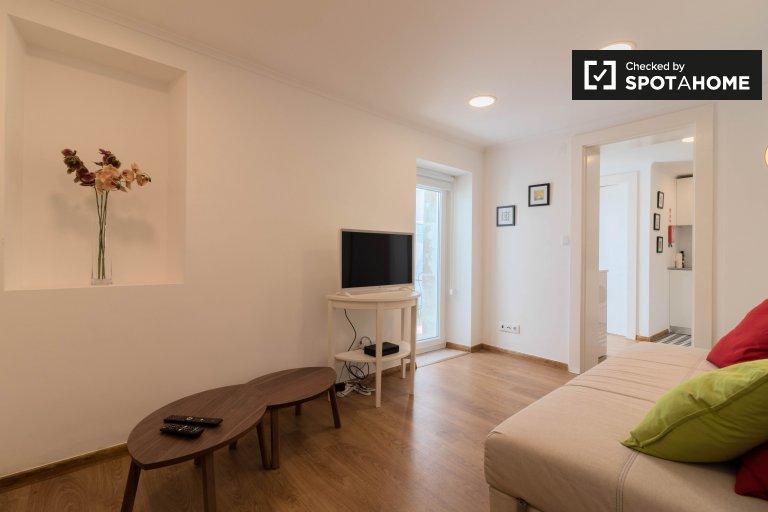 Élégant appartement 1 chambre à louer à Alcantara, Lisbonne