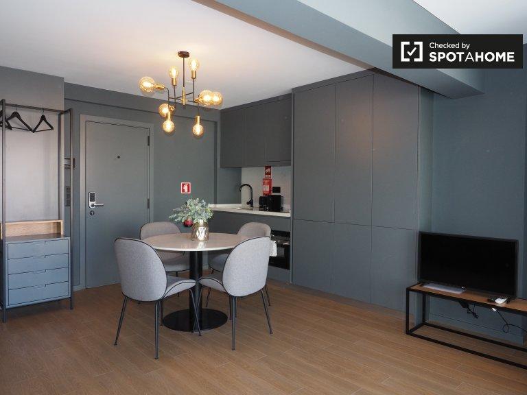 Estudio apartamento en alquiler en Avenidas Novas, Lisboa