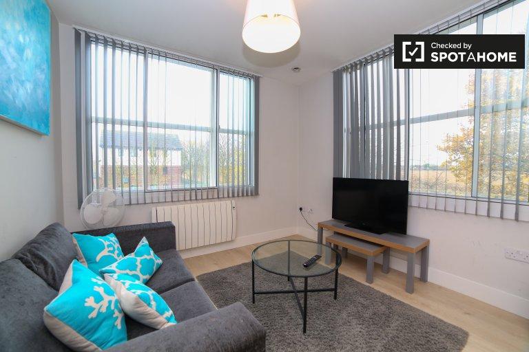 Piękne mieszkanie z 1 sypialnią do wynajęcia w Harlington w Londynie