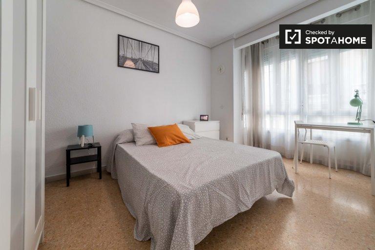 Chambre dans un appartement de 4 chambres à Ciutat Vella, Valence