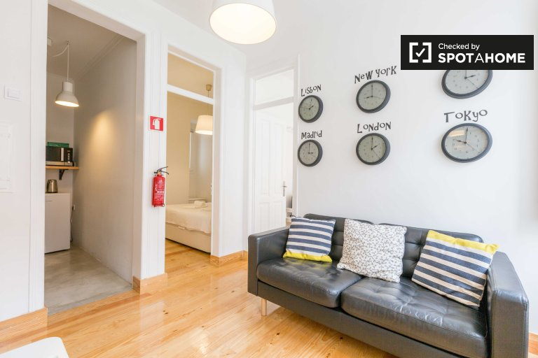 Modern 3-bedroom apartment for rent in Bairro Alto, Lisboa
