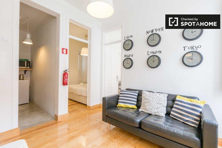 Bairro Alto, Lisboa kiralık modern 3 yatak odalı daire