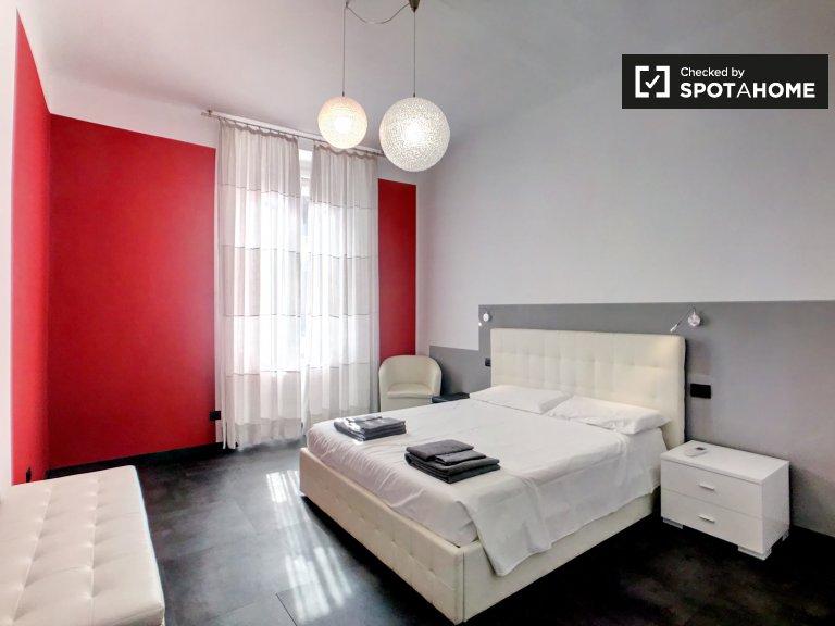 Apartamento de 1 dormitorio en alquiler en Porta Venezia, Milán