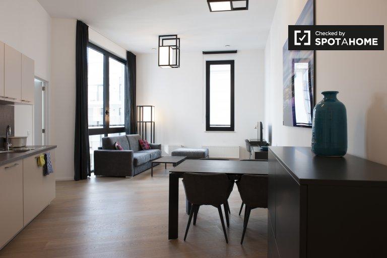 Schöne 1-Zimmer-Wohnung zur Miete in Brüssel Zentrum