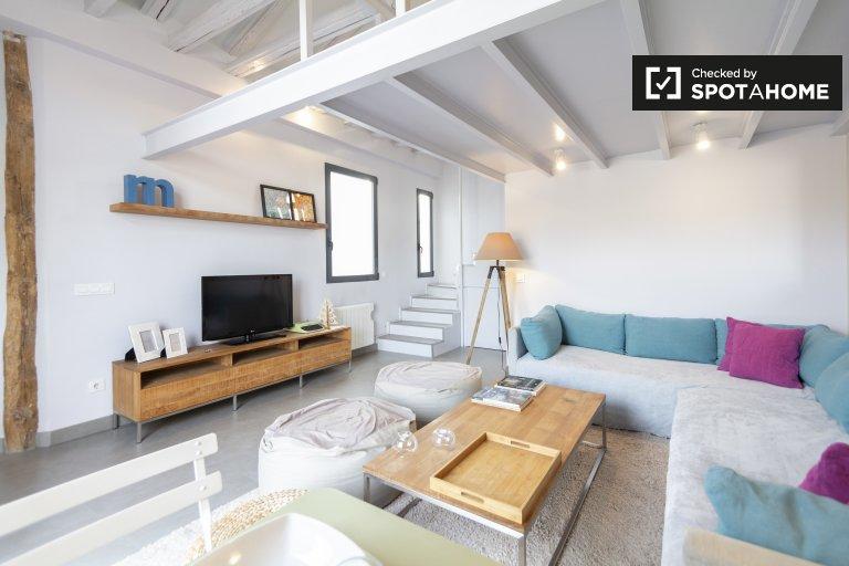 Geräumige 1-Zimmer-Wohnung zu vermieten, Malasaña, Madrid