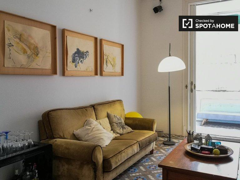 Schickes Studio-Apartment zur Miete in El Born, Barcelona
