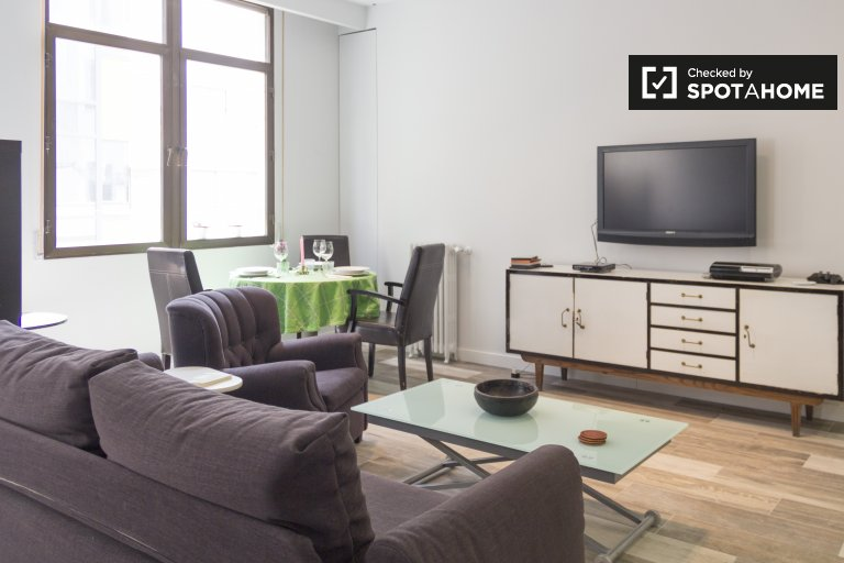 Centro, Madrid şehrinde kiralık geniş stüdyo daire