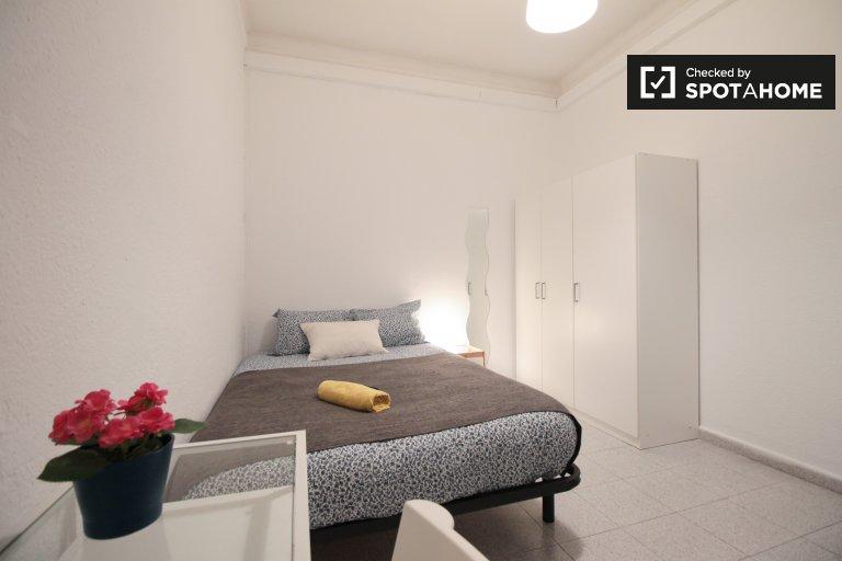 Quarto para alugar em apartamento em Sarrià-Sant Gervasi, Barcelona
