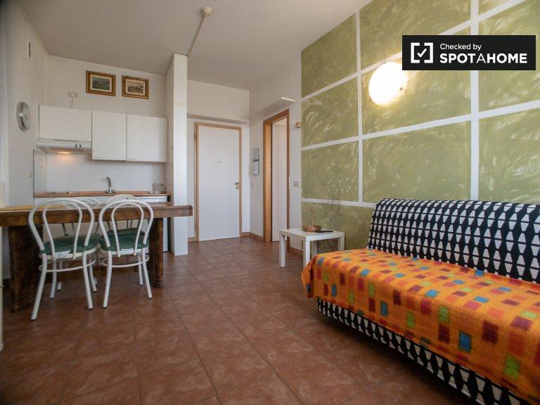 Apartamento de 1 quarto arrenda-se para alugar em Forlanini, Milão