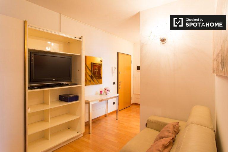 Cama para alugar em apartamento de 3 quartos, Bicocca, Milan