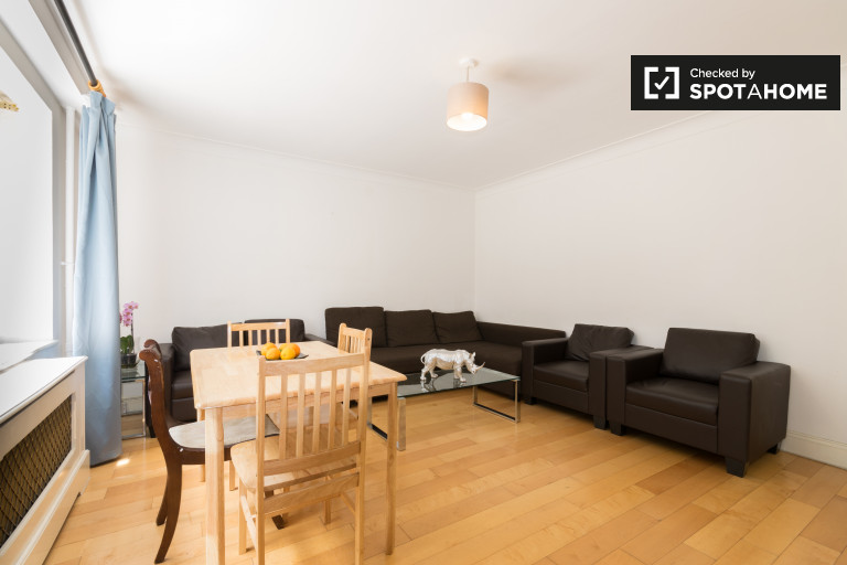 Fully furnished 2-bedroom apartment to rent in Marble Arch, right next to Hyde Park