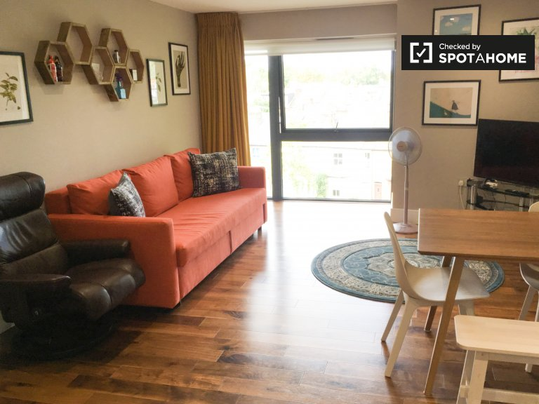 Moderne 1-Zimmer-Wohnung in Richmond, London zu vermieten