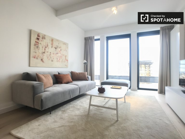 Beautiful 2-bedroom apartment for rent in Ixelles, Brussels