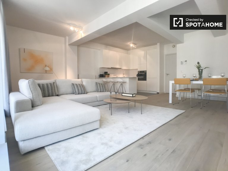 Stilvolle 2-Zimmer-Wohnung zur Miete in Ixelles, Brüssel