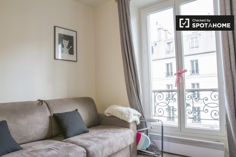 Cosy studio apartment for rent in 10th Arrondissement