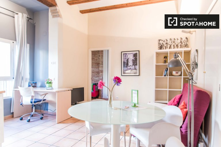 1-bedroom apartment for rent in Extramurs, Valencia