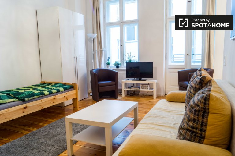Lovely studio apartment for rent, Prenzlauer Berg, Berlin