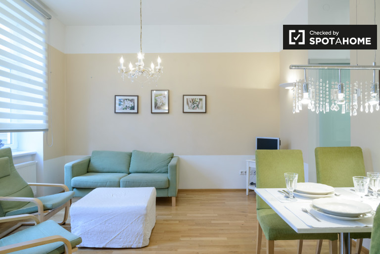 Modern 2-bedroom apartment for rent in the 5th District