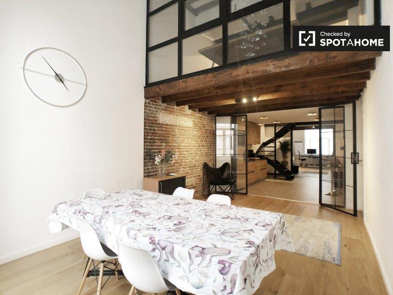 Appartamento con 3 camere da letto in affitto a Ixelles, Bruxelles