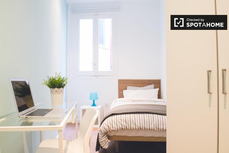 Chic room in 3-bedroom apartment in Lavapiés, Madrid