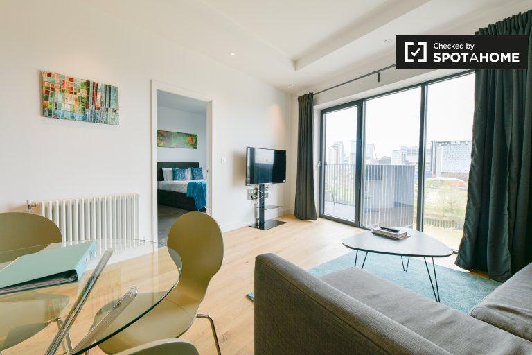 Moderne 1-Zimmer-Wohnung zu vermieten in Tower Hamlets, London