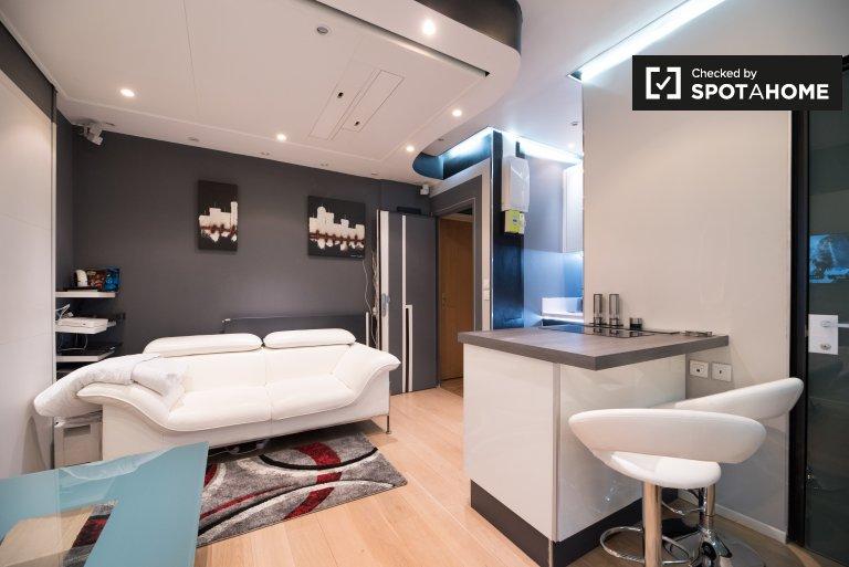 Contemporary studio for rent in 13th arrondissement, Paris