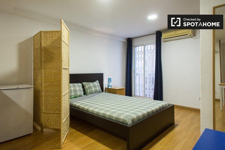 Apartamento de estúdio para alugar em El Raval, Barcelona