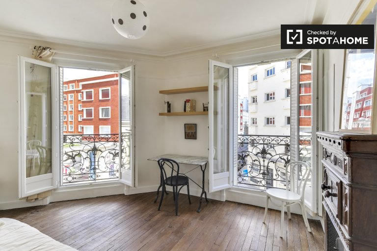 Bright 1-bedroom apartment for rent in the 18th arrondissement