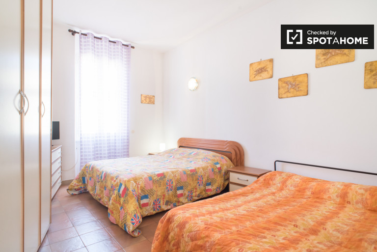 Large 1-bedroom apartment for rent San Giovanni, Rome