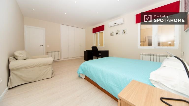 Bedroom 28 - double bed and en-suite