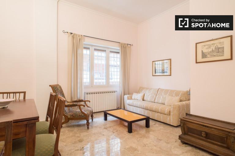 Spacieux appartement 1 chambre à louer à Fleming, Rome