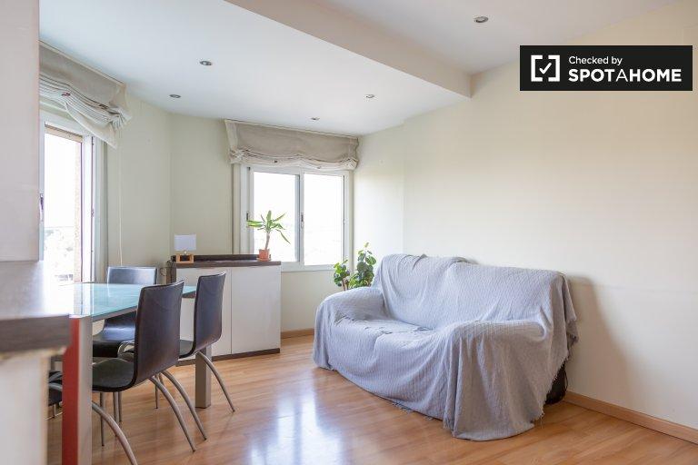 Appartement calme de 2 chambres à louer à Santa Coloma, Barcelone