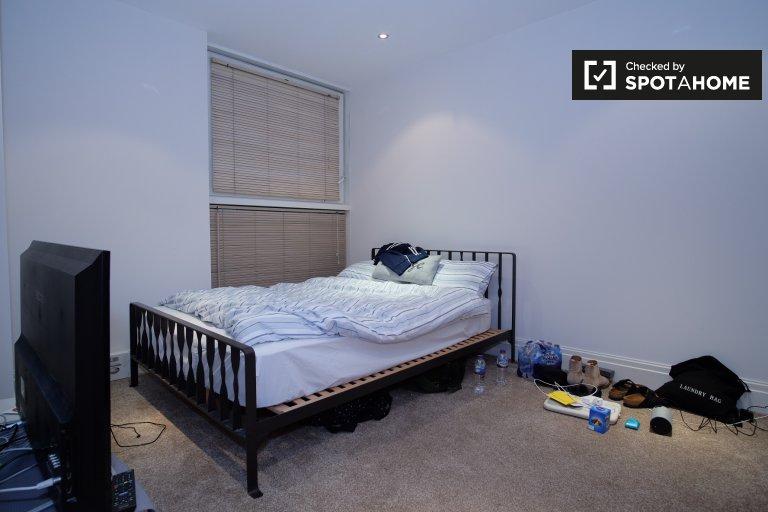 Quarto de luxo para alugar em apartamento de 3 quartos em Fulham, Londres