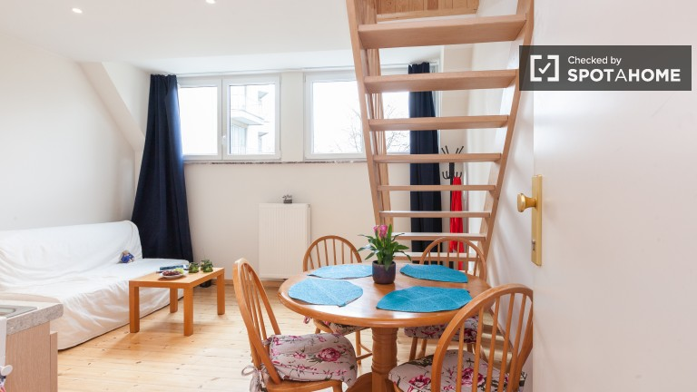 Studio appartement à louer - Woluwe Saint Lambert, Bruxelles