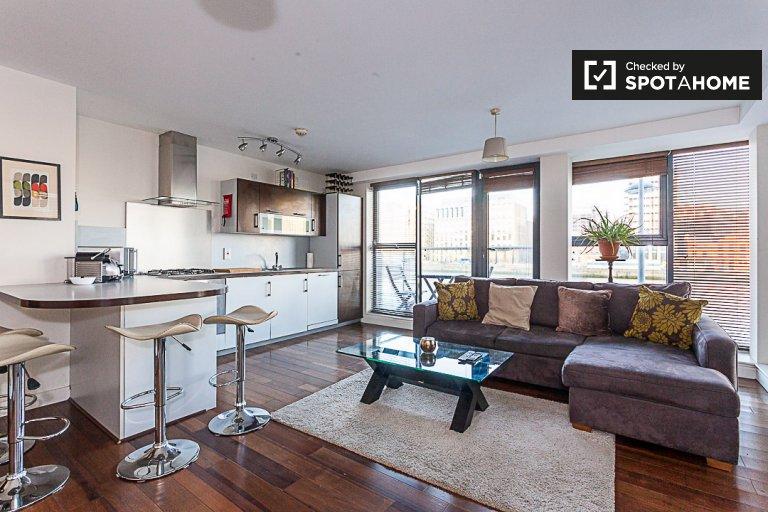 2-Zimmer-Wohnung zur Miete im Grand Canal Dock, Dublin