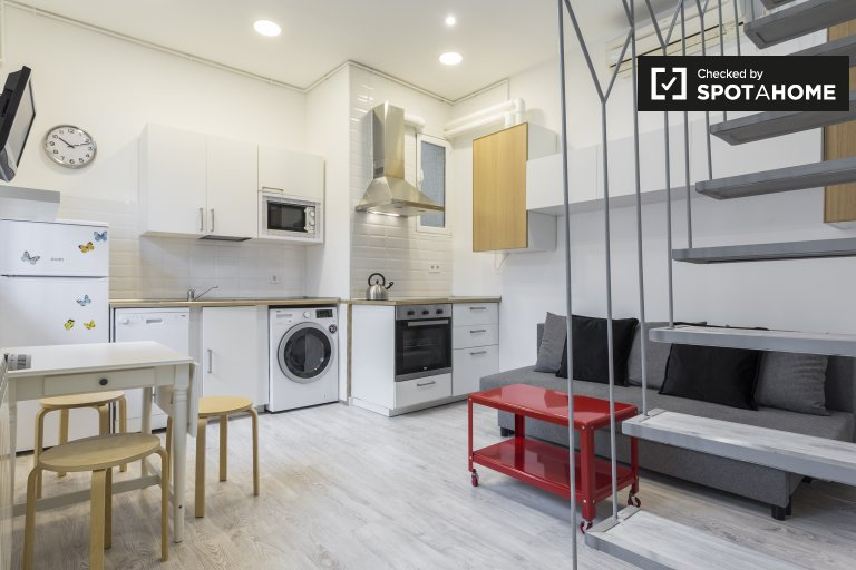 2-bedroom apartment for rent in Lavapies, Madrid.