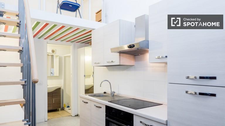 Studio Apartment With Mezzanine studio for rent near navigli - milan | spotahome